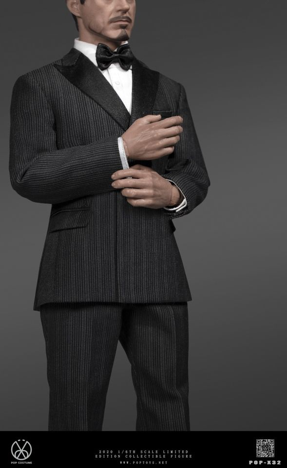 Men's Striped Suit Set<BR>PRE-ORDER: ETA Q4 2020