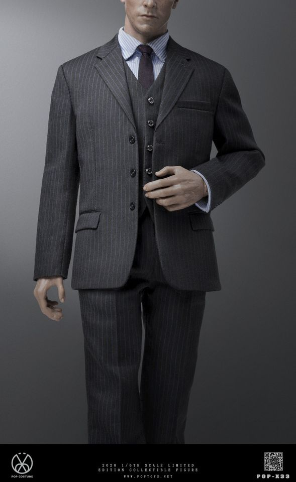 Men's Three Piece Dress Suit<BR>PRE-ORDER: ETA Q4 2020