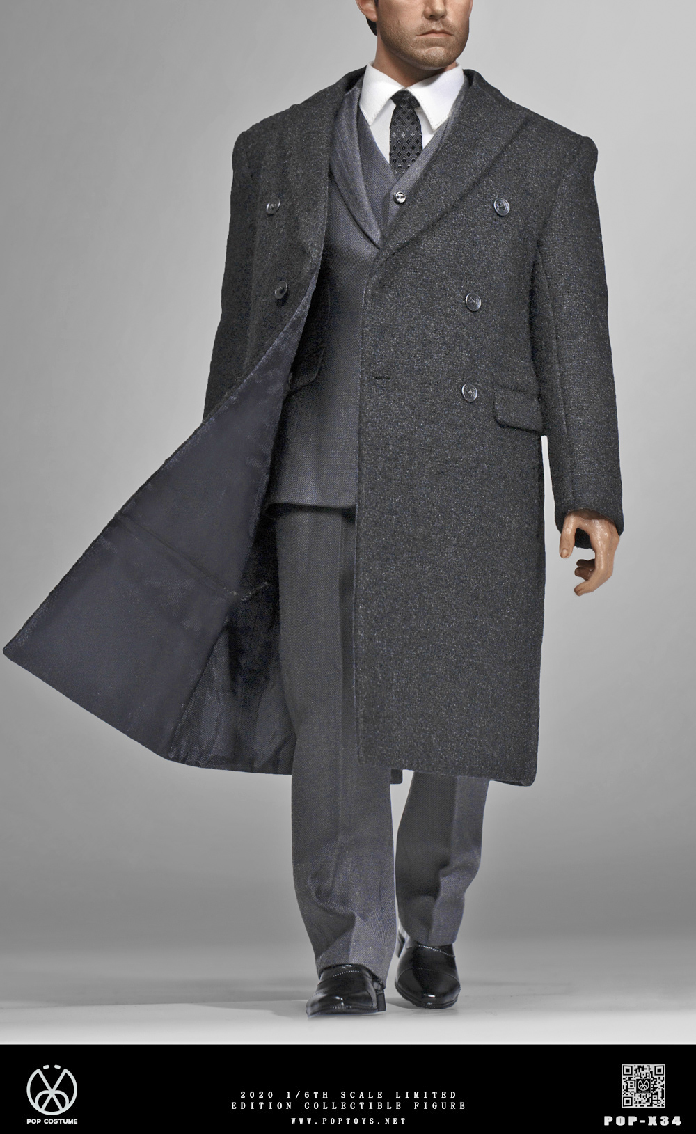 Dress Suit and Overcoat Set<BR>PRE-ORDER: ETA Q1 2021