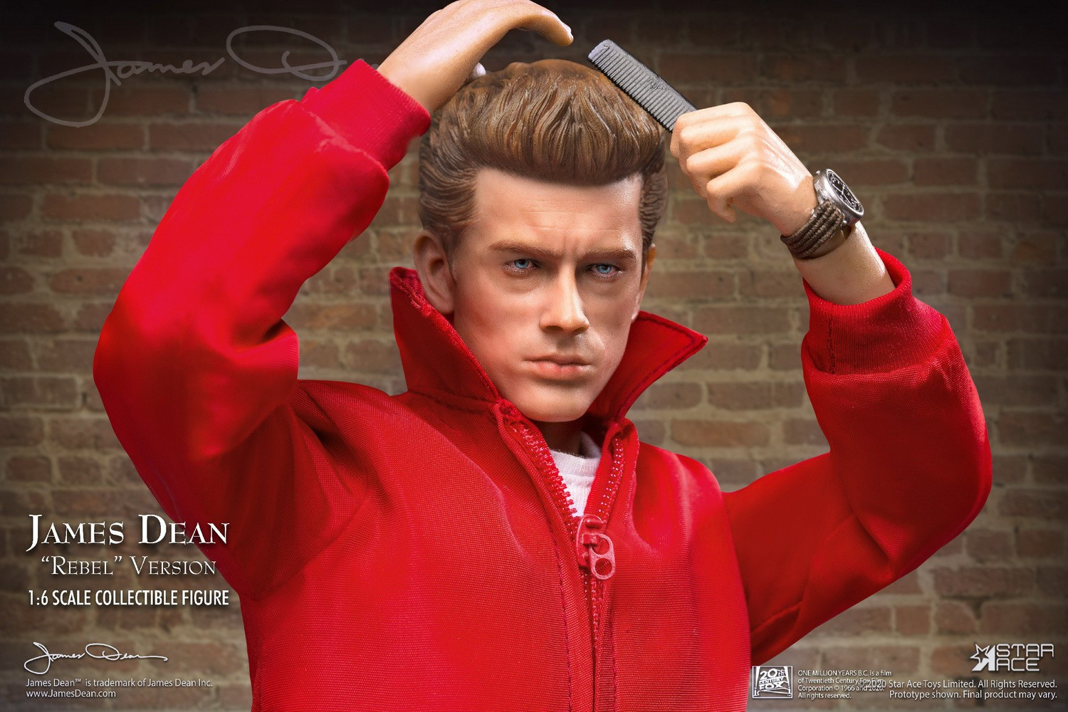 James Dean (Rebel Version)<BR>PRE-ORDER: ETA Q4 2020