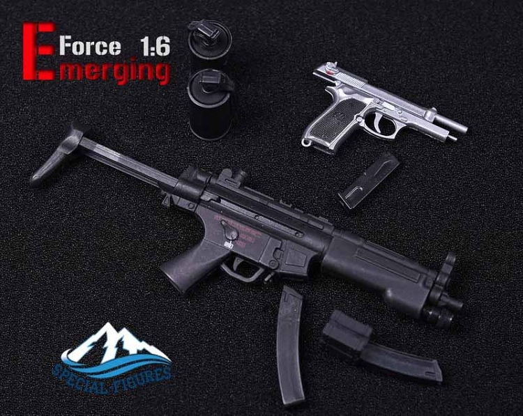 Special Action Figures MP5 Submachine Gun Emerging Force 1//6 Scale