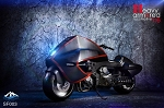 Heavy Armored 'Locomotive' Motorcycle<BR>PRE-ORDER: ETA Q1 2019<BR>WAIT LIST