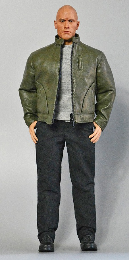 Men's Leather Jacket Outfit Set (Green)<BR>PRE-ORDER: ETA Q4 2020