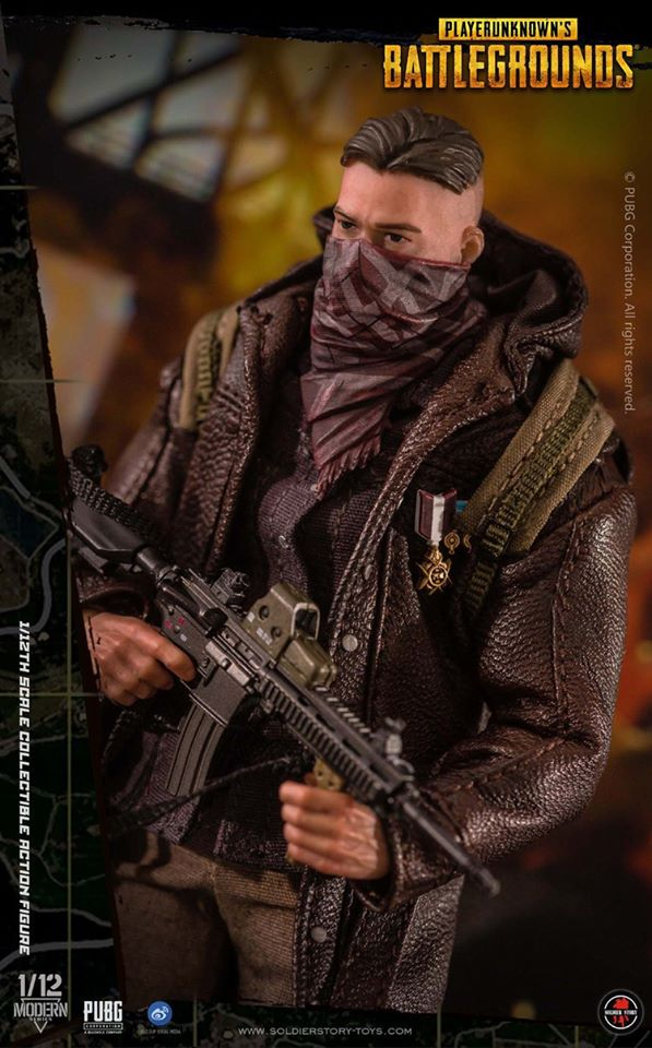 PlayerUnknown's Battlegrounds Series: 'Trenchcoat' (1:12 Scale)<BR>PRE-ORDER: ETA Q4 2020