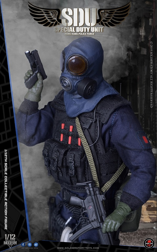 HK SDU Assault Team <BR>(1:12 Scale)<BR>PRE-ORDER: ETA Q4 2019