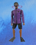Dare to Dive Scuba Action Outfit Set (Purple)<BR>PRE-ORDER: ETA Feb. 2018