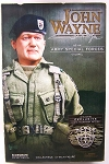 John Wayne Green Beret - Tigerstripe Pattern - Sideshow Exclusive, C-8 Box