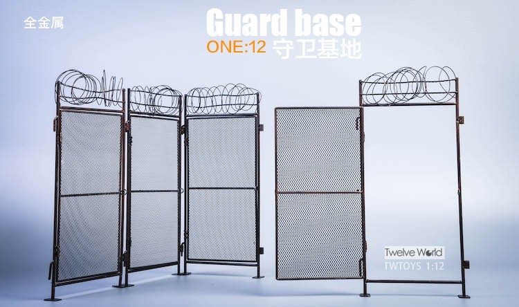 Four Fence Panel Add On Set (1:12 Scale)<BR>PRE-ORDER: ETA Q3 2020
