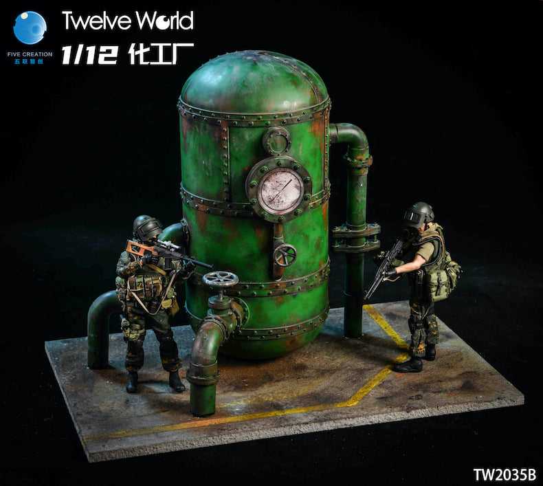Chemical Tank Display (1:12 Scale)<BR>PRE-ORDER: ETA Q1 2021