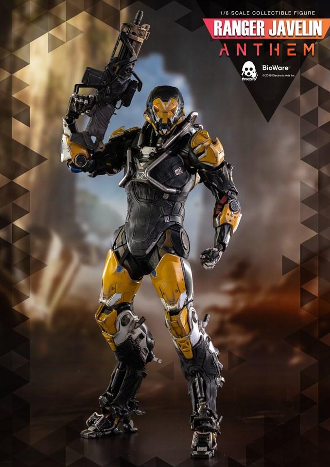 Ranger Javelin Anthem Video Game Action Figures 1 6 Three