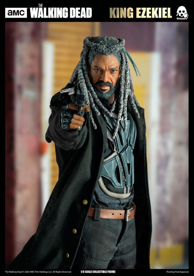 The Walking Dead: King Ezekiel<BR>PRE-ORDER: ETA Q2 2021