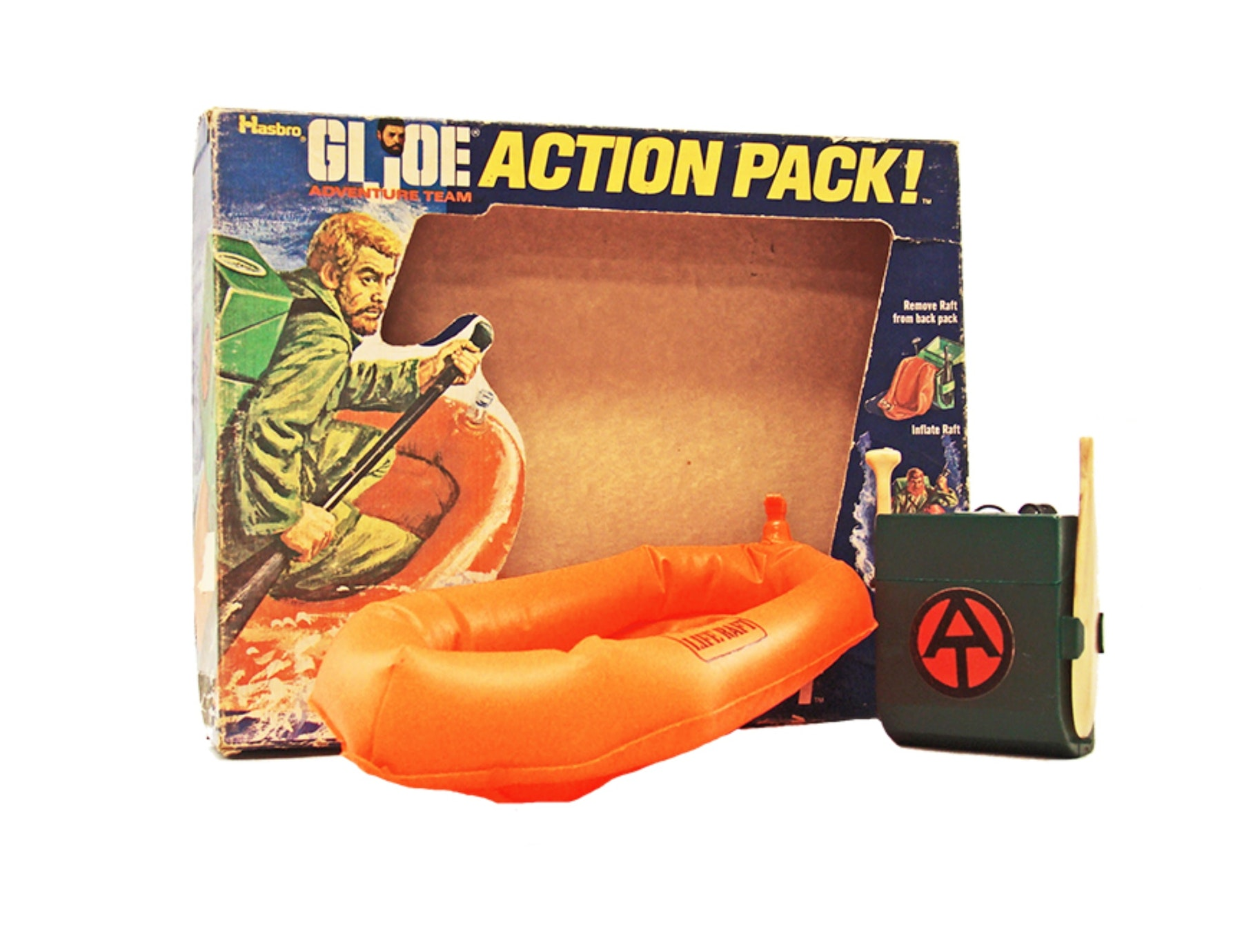 Action Pack Rescue Raft w/Box (No Inserts)