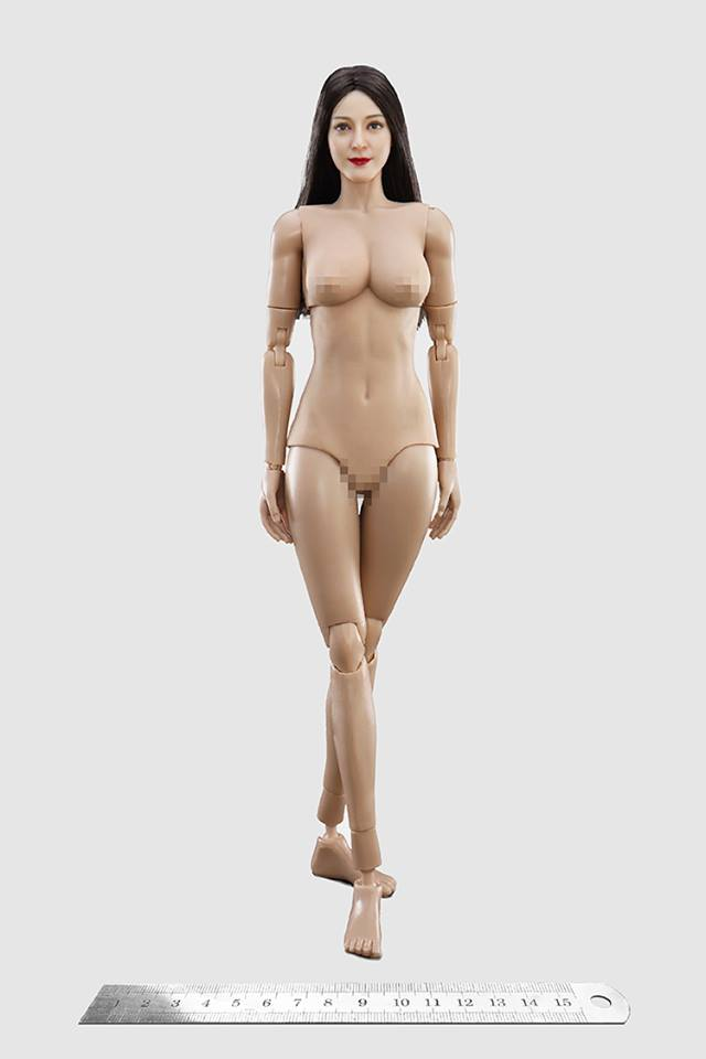 1//6 Scale Female Bare Feet for 12/'/' Action Figure Toys Body Connector Modle Gift