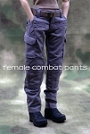 Female Combat Pants<BR>(Gray)