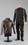 Spy Killer Leather Jacket Set (Brown)