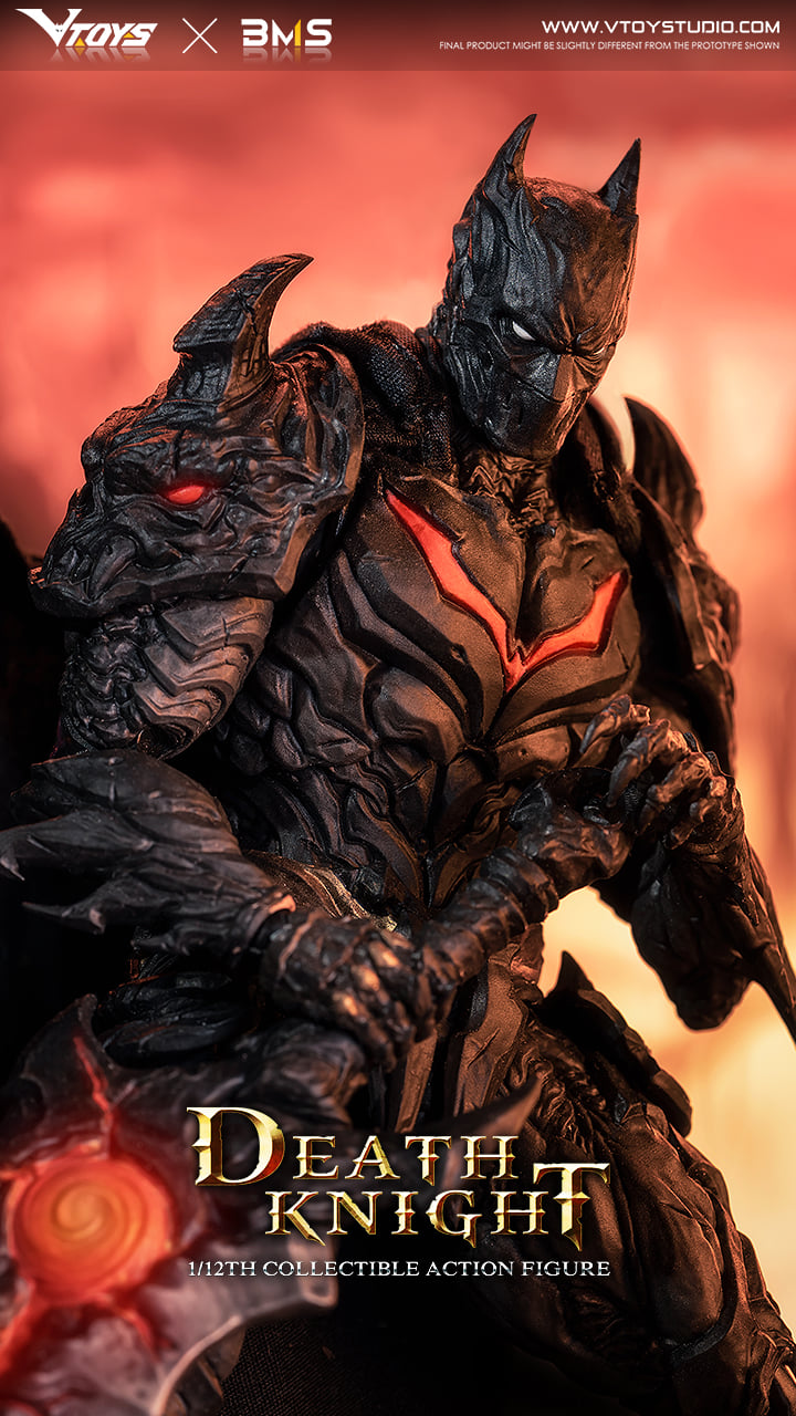 Death Knight (1:12 Scale)<BR>PRE-ORDER: ETA Q3 2021