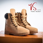Male Mountain Boots (Tan Smooth Finish)<BR>PRE-ORDER: ETA Dec. 2018