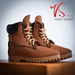 Male Mountain Boots (Brown Suede)<BR>PRE-ORDER: ETA Dec. 2018
