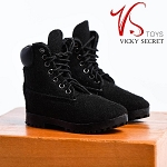 Male Mountain Boots (Black Suede)<BR>PRE-ORDER: ETA Dec. 2018