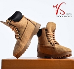 Female Mountain Boots (Tan Suede)<BR>PRE-ORDER: ETA Dec. 2018
