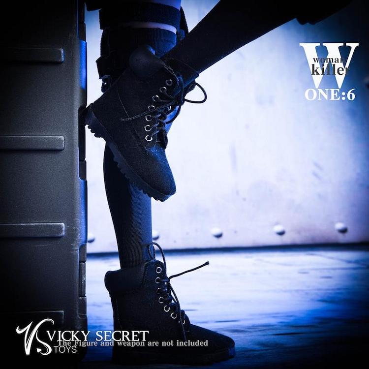 VSTOYS 1//6th 18XG27 Female Assassin Women Killer Combat Clothing Set Boots Model