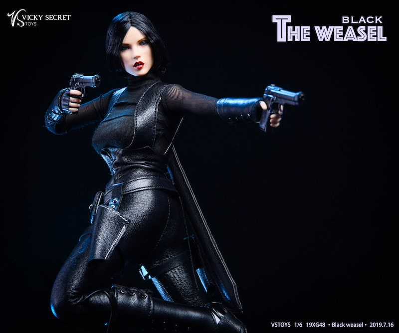 Black Weasel Outfit & Head Sculpt Set<BR>PRE-ORDER: ETA Q1 2020