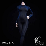 Female Bodysuit with Sleeves (Black)<BR>PRE-ORDER: ETA Q2 2019