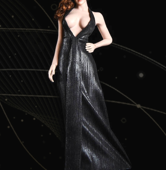 Monroe Dress Set (Black)<BR>PRE-ORDER: ETA Q4 2019