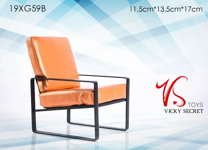 Modern Chair (Orange)<BR>PRE-ORDER: ETA Q1 2020