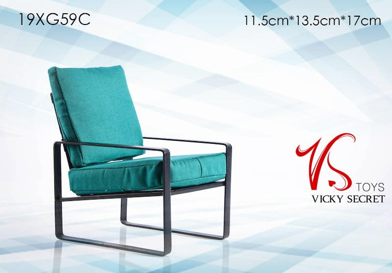 Modern Chair (Teal)
