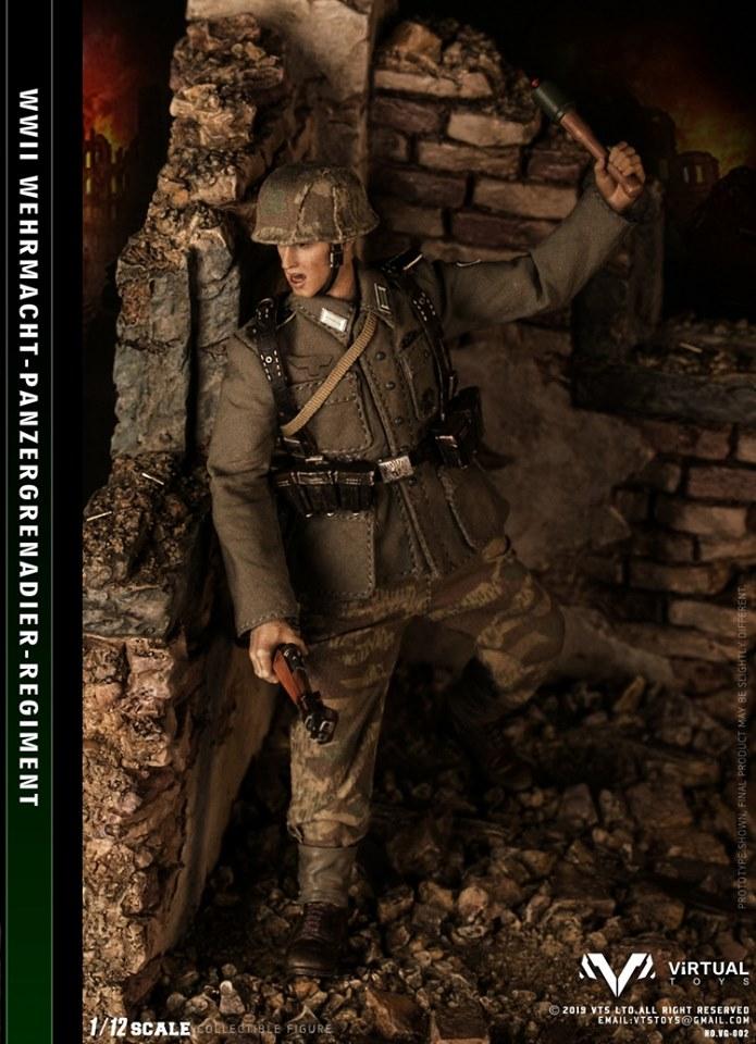WWII Heer Panzergrenadier (1:12 Scale) PRE-ORDER: ETA Q4 2019