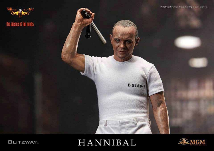 Hannibal Lecter (Silence of the Lambs) White Prison