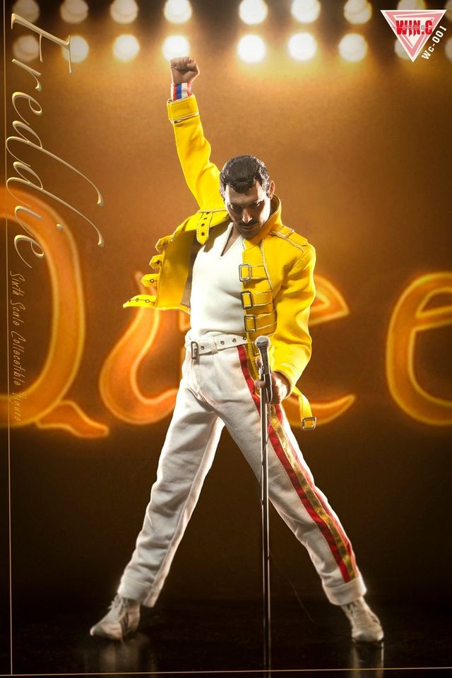Freddie Yellow Jacket Outfit & Head Sculpt Set