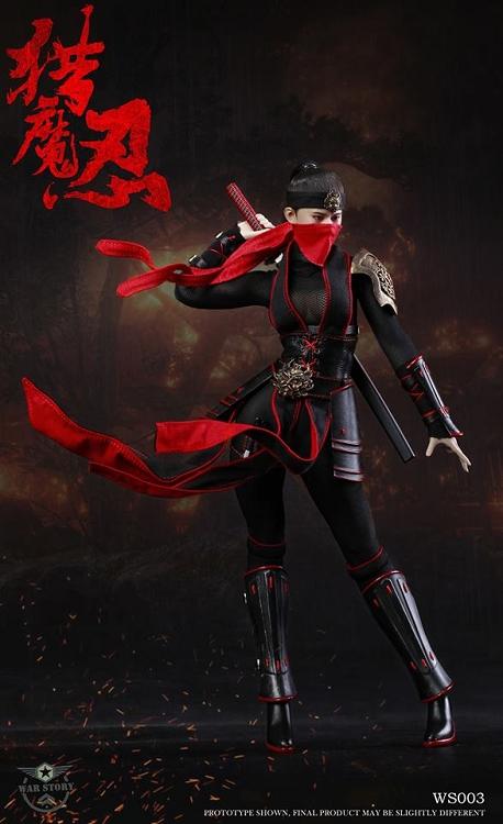 Demon Female Ninja | 1...