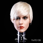 Marie Female Head Sculpt  - Blonde Hair<BR>PRE-ORDER: ETA Q1 2019