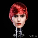 Marie Female Head Sculpt  - Red Hair<BR>PRE-ORDER: ETA Q1 2019