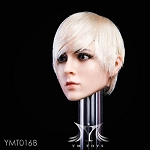 Nadine Female Head Sculpt - Blonde Hair<BR>PRE-ORDER: ETA Q1 2019