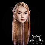 Azariah Female Elf/Human Head Sculpt<BR>PRE-ORDER: ETA Q4 2018