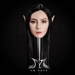 Elanil Female Elf/Human Head Sculpt<BR>PRE-ORDER: ETA Q4 2018