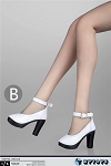 High Heel Shoes (White)