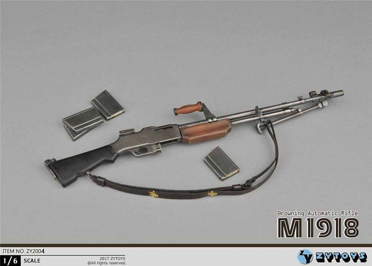 21st Century Toys Ultimate Soldier BROWNING AUTOMATIC RIFLE B.A.R 1//6 Scale Gun