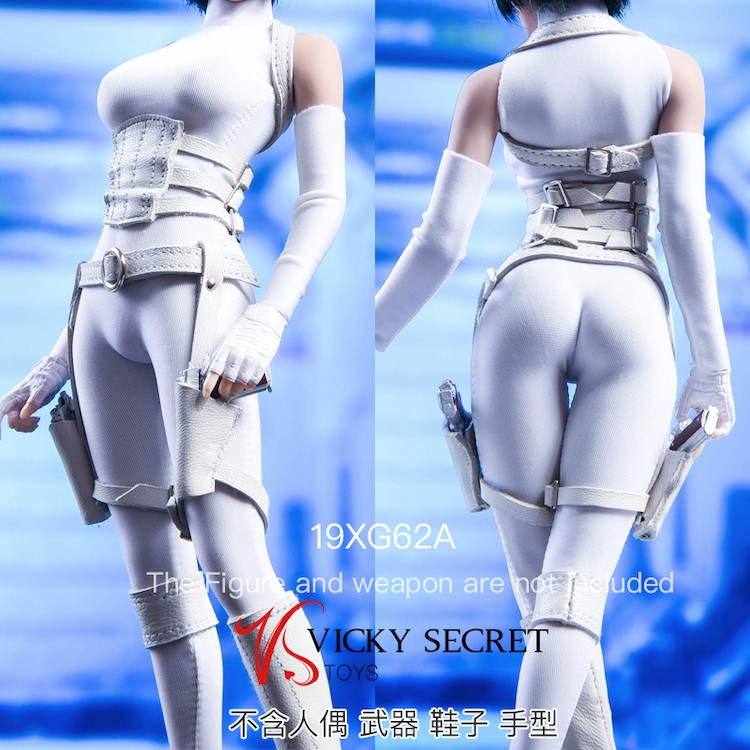 Assassin Bodysuit Set (White)<BR>PRE-ORDER: ETA Q3 2020