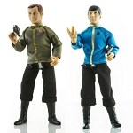 Star Trek Duo: Captain Kirk & Mister Spock - Dress Uniforms (1:9 Scale)