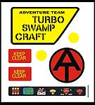 Turbo Swamp Craft Decal Set<BR>