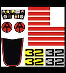 Avenger Pursuit Craft<BR>Decal Set