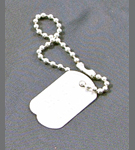 40th Anniversary Action Man Metal Dog Tag