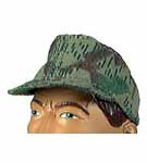 German M41 Field Cap: Splinter Camo<BR><B>One available