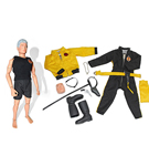 2012 GI Joe Club: Man of Evil, The Lost Adventurer<BR>Figure & Uniform Set