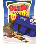 GI Joe 2000 Convention Igloo Cooler, Towel, Hat