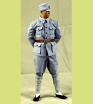 WWII Era Chinese Eighth Route Army<BR>Military Uniform with Head Sculpt<br>